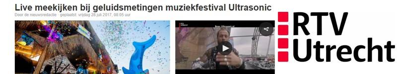 algemeen dagblad, AD, Utrecht, Ultrasonic, rtv utrecht