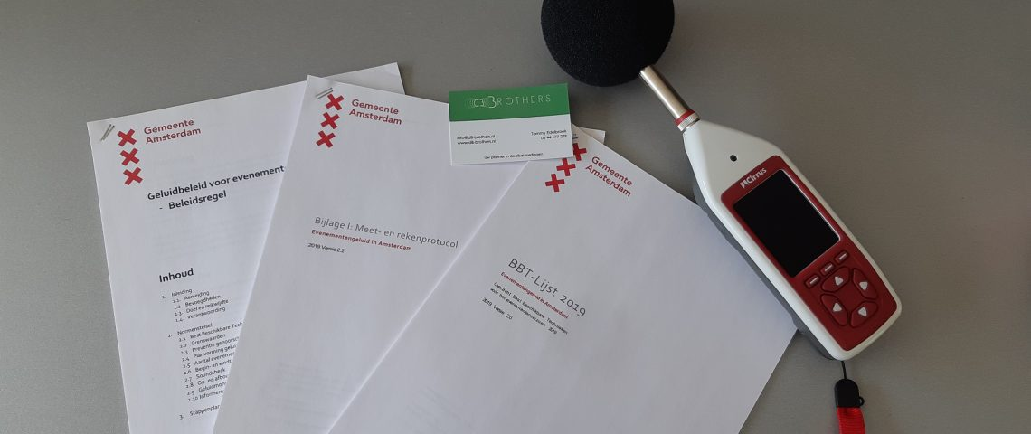 geluidsbeleid, amsterdam, geluidsmetingen, controle, vergunning, Amsterdam, festival, event